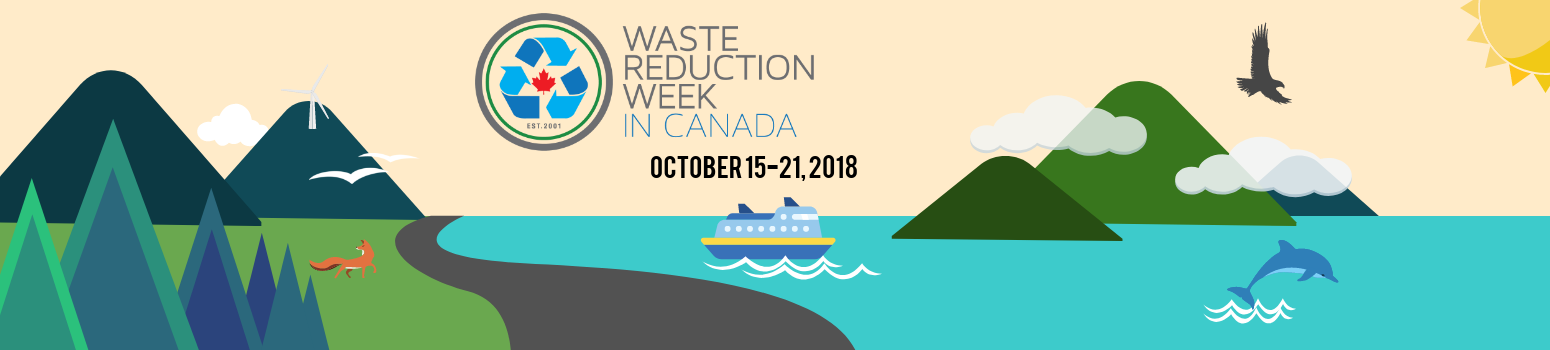 waste reduction week 2018 banner