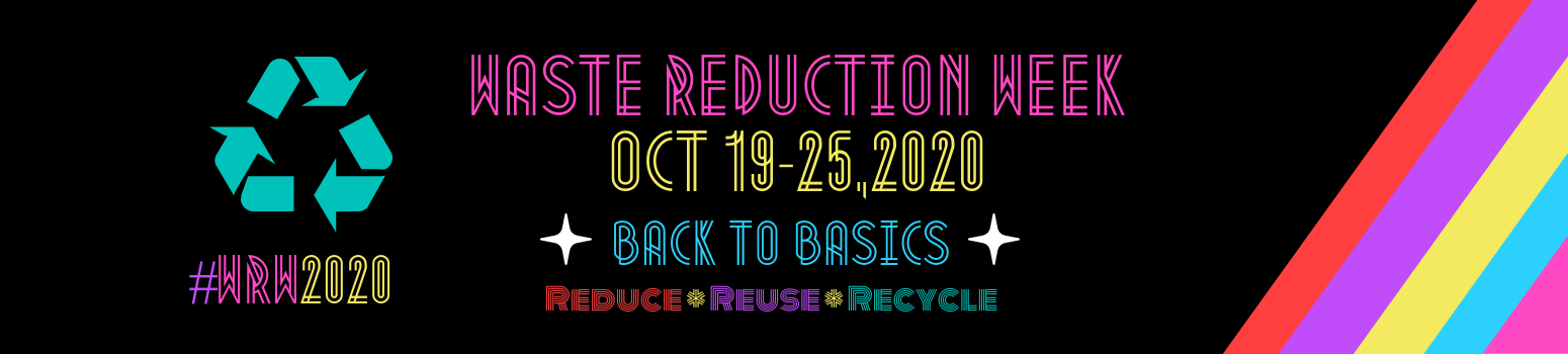 Waste Reduction Week 2020