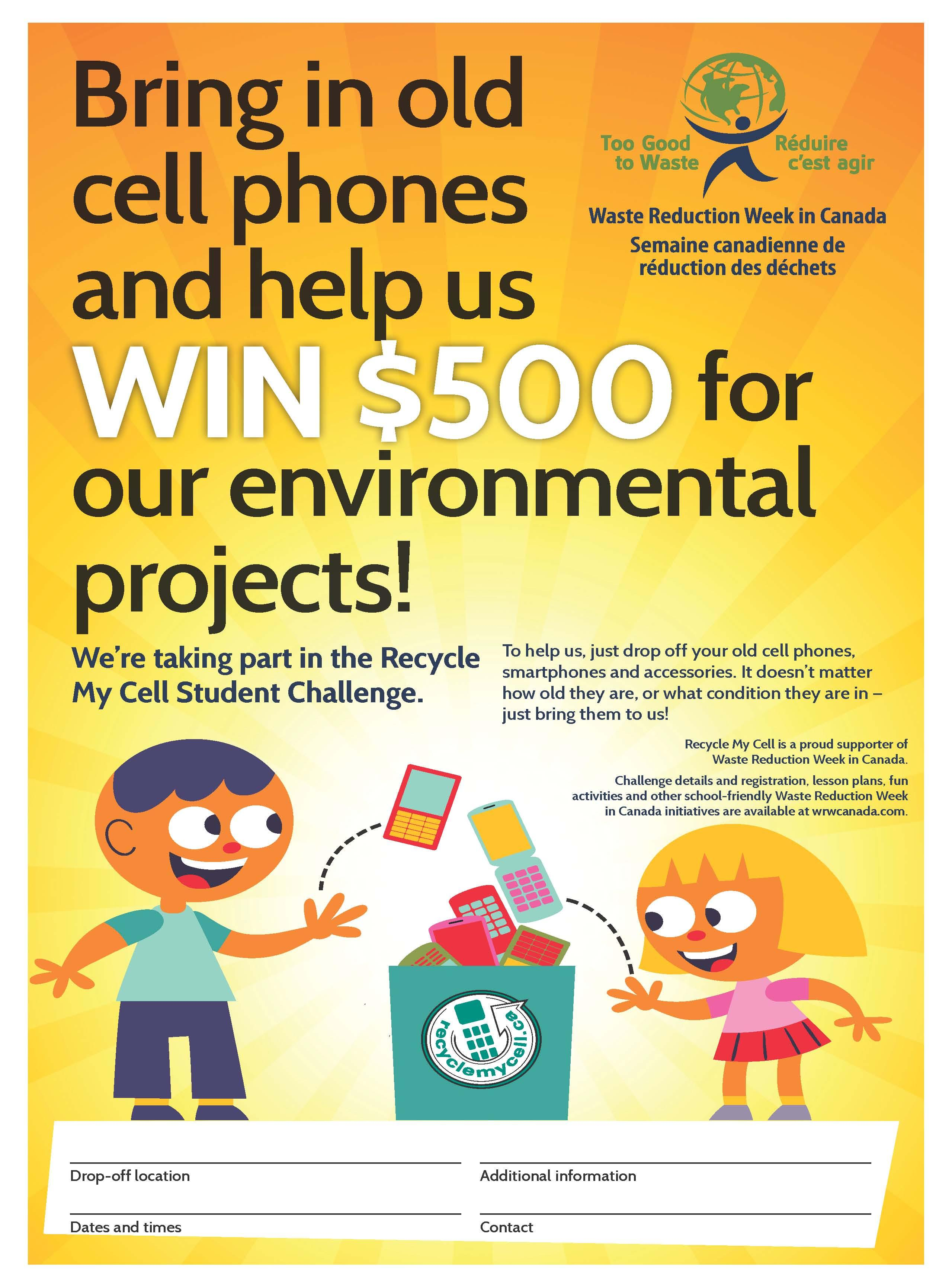 Recycle My Cell Poster