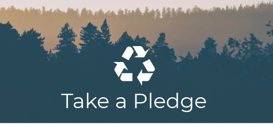 Waste Reduction Week Pledge Header