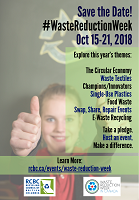 Waste Reduction Week 2018 Poster 1