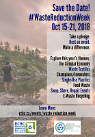 Waste Reduction Week 2018 Poster 2