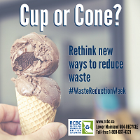 Waste Reduction Cup or Cone