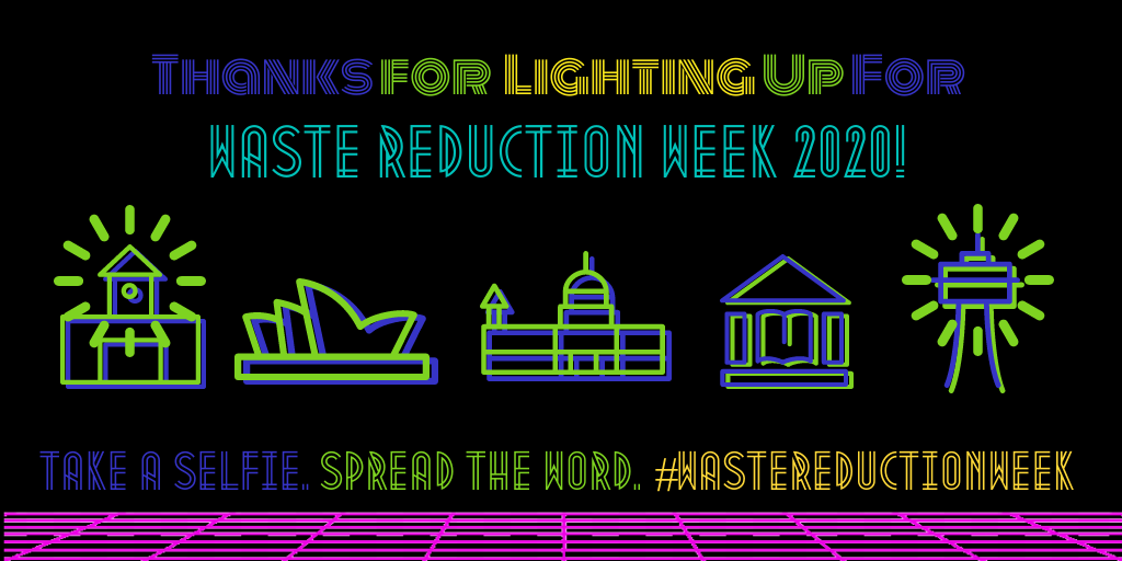 Waste Reduction Week Lightings